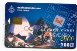 TK 17879 THAILAND - Chip - TOT - Sydney 2000 - Olympische Spelen