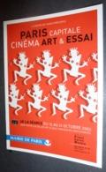 "Carte Postale ""Cart'Com"" (2003) - Paris Capitale Cinéma Art & Essai - Mairie De Paris - Pubblicitari"