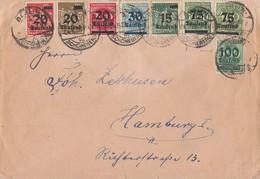 DR Brief Mif Minr.279,280,281,282,285,287,288,290 Berlin 24.9.23 Geprüft - Briefe U. Dokumente