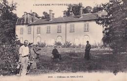 PERIGNAT          CHATEAU DE SARLIEVES       JARDINIER - France