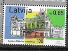 LATVIA, 2019, MNH,LATVIAN ART ACADEMY, ARCHITECTURE,  1v - Art