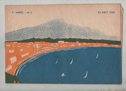 Journal Les Potins De St Jean De Luz 1930 - Alte Papiere