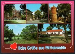 D1225 - TOP Mittenwalde - Bild Und Heimat Reichenbach - Qualitätskarte - Mittenwalde