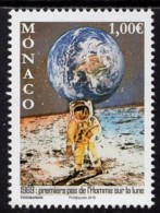 12.- MONACO 2019 50 ANNIVERSARY OF FIRST STEP ON THE MOON - Europa