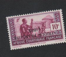 Faux Afrique équatorale N° 96a Surcharge Renversée Gomme Sans Charnière - A.E.F. (1936-1958)