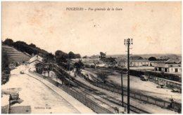 08 VOUZIERS - Vue Générale De La Gare - Vouziers
