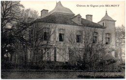 52 Chateau De Gignan Près BELMONT - Autres Communes