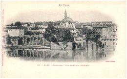 81 ALBI - Faoubour - Vue Prise De L'Evêché - Albi