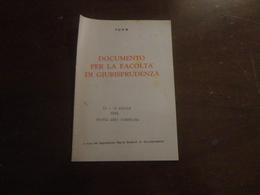 FUAN-DOCUMENTO PER LA FACOLTA' DI GIURISPRUDENZA - Diritto Ed Economia