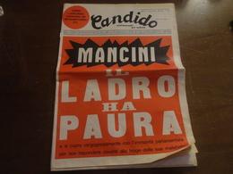 CANDIDO SETTIMANALE DEL SABATO-4 NOVEMBRE 1971-MILANO NUOVA SERIE-ANNO IV-N°44 - Diritto Ed Economia