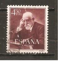 España/Spain-(usado) - Edifil  1120  - Yvert  833 (o) (defectuoso) - 1951-60 Gebraucht