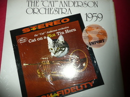 LP33 N°248 - THE CAT ANDERSON ORCHESTRA 1959 - COMPILATION 9 TITRES JAZZ BLUES BOOGIE RARE IMPORT - Jazz
