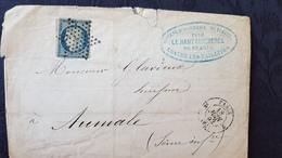 Affaire ! Série De 21 Lettres Classiques, Ceres, Napoléon III Cote YT 536€ - 1849-1876: Classic Period