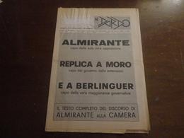 IL DARDO-ANNO XV N° 5 BIS-1976 - Diritto Ed Economia
