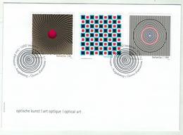 Suisse // Schweiz // Switzerland //  FDC 2010 // Art Optique Oblitérée 1er Jour No.1362-1364 - FDC