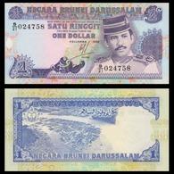BILLET BRUNEI 1 DOLLAR - Brunei