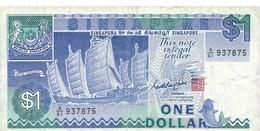 BILLET SINGAPOUR 1 DOLLAR - Singapour