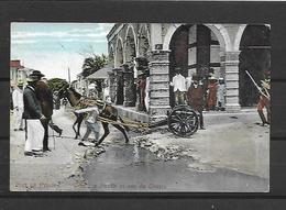 HAITI PORT AU PRINCE RUES PAVEE ET DU CENTRE - Otros
