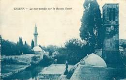 TURQUIE OURFA LE SOIR TOMBE SUR LE BASSIN SACRE - Turchia