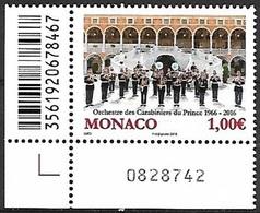 Monaco 3027 Orchestre Des Carabiniers, Armée, Militaire - Música