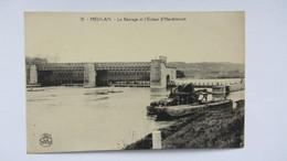 MEULAN , PENICHE   PONT  CANAL .1 - Mantes La Jolie