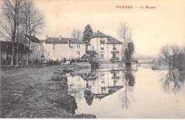 MOULIN A EAU - 77 - TIGEAUX : Le Moulin  - CPA Village (380 Habitants) - Seine Et Marne - Watermolens
