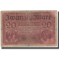 Billet, Allemagne, 20 Mark, 1918, 1918-02-20, KM:57, B - [ 3] 1918-1933: Weimarrepubliek