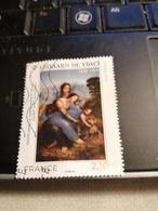 Leonard De Vinci (2019) - Used Stamps