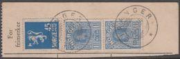 1910. Haakon. Smooth Background. Die C. 1,50 Kr. Ultramarine. GEIRANGER 11. XII. 34  (Michel 90) - JF318216 - Gebraucht