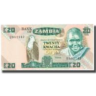 Billet, Zambie, 20 Kwacha, KM:27d, SPL - Zambia