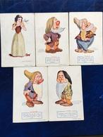 """5 Vpk--""""Sneeuwwitje En 4 Dwergen""""--(my Ref 177) - Disneyworld"""