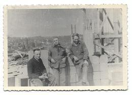 Liege 1953 Construction Du Building Coin Rue D'Archis Et Boulevard D'Avroy Photo 10x7 - Places