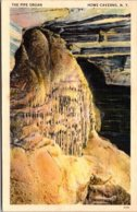 New York Howe Caverns The Pipe Organ 1950 - NY - New York