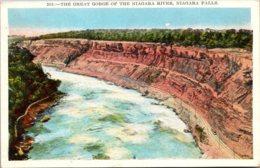 New York Niagara Falls The Great Gorge Of The Niagara River - NY - New York