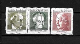 LOTE 1956  ///  ALEMANIA FEDERAL 1969   YVERT Nº: 461/463 - Used Stamps