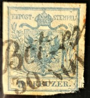 AUSTRIA 1850/54 - BOTZEN Cancel - ANK 5 - 9kr - Used Stamps