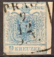 AUSTRIA 1850/54 - PRAG Cancel - ANK 5 - 9kr - Used Stamps
