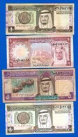 Arabie  Saoudite  4  Billets - Arabie Saoudite