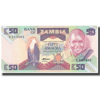Billet, Zambie, 50 Kwacha, KM:28a, SPL - Zambie