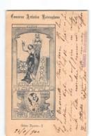 17780  CONCORSO ARTISTICO - CLELIA BIRRA STEINFELD   F.LLI REININGHAUS -GRAZ BANCO MARGHERI FIRENZE X BORDIGHERA - Marcofilie