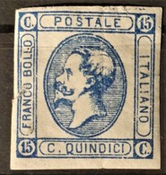 ITALY / ITALIA 1863 - MLH - Sc# 23b - 15c - 1861-78 Victor Emmanuel II.