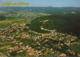 Osterreich - Postcard Unused   - Pitten - General View  - 2/scans - Pitten
