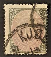 DANISH WEST INDIES 1874/79 - Canceled - Sc# 11a - 12c - Danemark (Antilles)