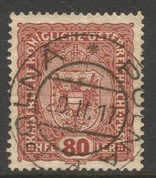 AUSTRIA / CZECH. 80h USED POLNA POSTMARK. - 1850-1918 Empire