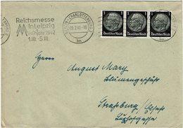 LCTN59/ALS 2 - ALSACE LORRAINE - LETTRE BERLIN / STRASBOURG 9/2/1942 - Alsazia-Lorena