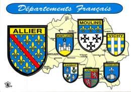 Blason Adhésif ,  DEPARTEMENTS FRANCAIS , ALLIER , * M 21 00 - France