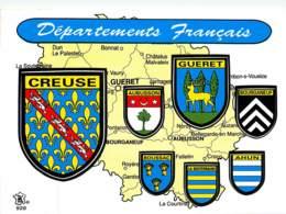 Blason Adhésif ,  DEPARTEMENTS FRANCAIS , CREUSE , * M 21 01 - Non Classés