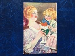 """Cpa--""""Jeune Femme-joie Maternelle""""-T.Sala-(my Ref 185) - Illustrateurs & Photographes"""