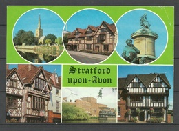 GREAT BRITAIN Stratford-Upon-Avon Shakespeare's Birthplace Sent From Germany 1994 With German Stamp - Sonstige