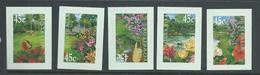 Australia 2000 Gardens Self Adhesives Set Of 5 Singles Ex Booklet MNH - 2000-09 Elizabeth II